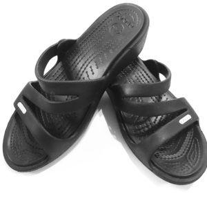 Crocs Patricia strapping black comfort sandals